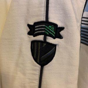 Quiksilver Shirts & Tops - Quicksilver zip cotton track jacket sweatshirt